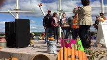 CMS Pumpkin Flingers, the 2018 ASD-N Mini Catapult Champions